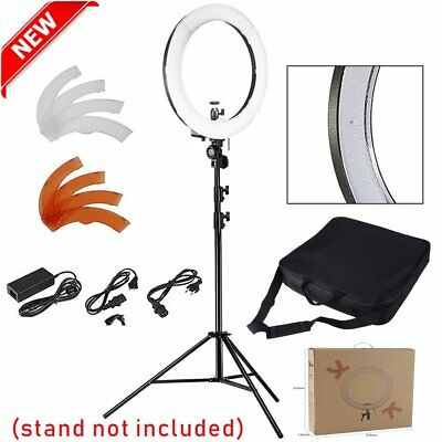 """240 Led 18"""" 5500k Ring Light and Mirror for Makeup Lights,Video Shooting AS"""