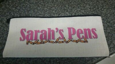 Any Name Pic Personalised Pencil Case - Boys / Girls Kids Birthday Gift Present