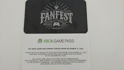 Xbox Game Pass 24 Monate Xbox Fanfest