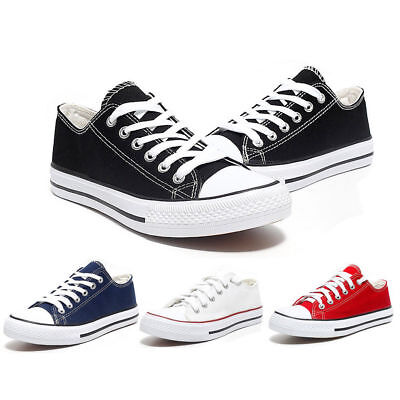 Fashion Lovers Women Men Causal Shoes Canvas Classic Flats Sneakers Low Lace-up