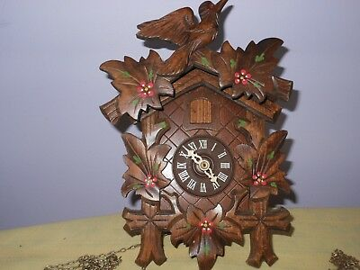 Vintage Blackforest Style Cuckoo Clock - Made in Germany Spares or Repai