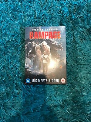 DVD RAMPAGE Dwayne Johnson new but not sealed