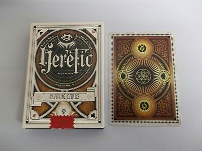 "SUPERB PACK ""Bicycle Type - Heretic (SUPERB)"" Pack of Playing Cards"