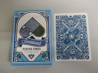 "SUPERB PACK ""Bicycle Type - Skateboard (SUPERB)"" Pack of Playing Cards"