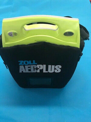 Zoll AED Plus with case and used batteries.  6 month warranty