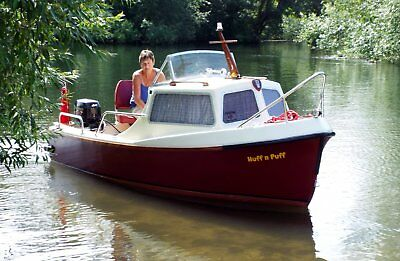 Fishing Boat / Day boat with Cabin. 14 Foot.