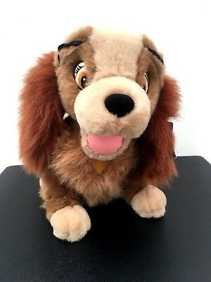 Disney Disneyland Paris Lady and The Tramp soft toy plush teddy WITH TAGS