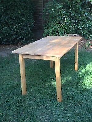 Ikea 4 Place Wooden Dinning Table