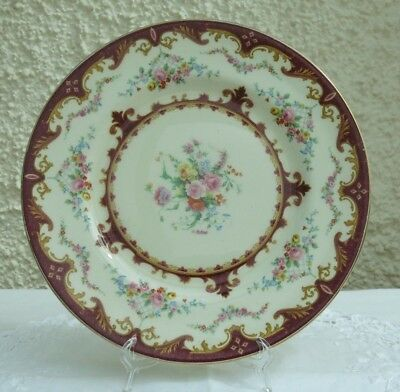 1930's Vintage Decorative Plate by Myott, Staffordshire - Decorated by A Roberts