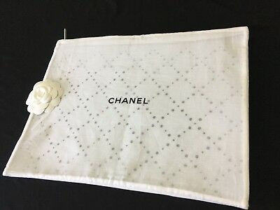 Authentic CHANEL Garment Travel Zip Tote Bag 14 X 11 Sealed and Brand New!!