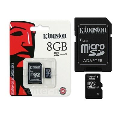 Kingston-Micro-SD-8GB-SDHC-Samsung-Memory-Card-Microsd-TF Mobile-Phone-Class-4