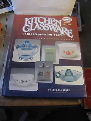 Kitchen Glassware Of The Depression Years Fifth Edition Reference Book/florence