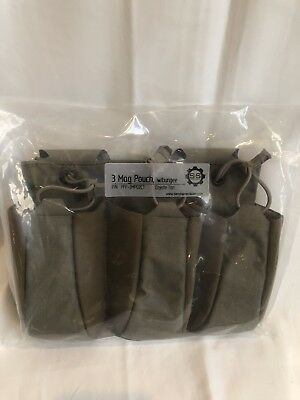 S&S Precision Old Gen Coyote Tan Plate Frame 3 Mag Pouch w/Bungee SEAL DEVGRU