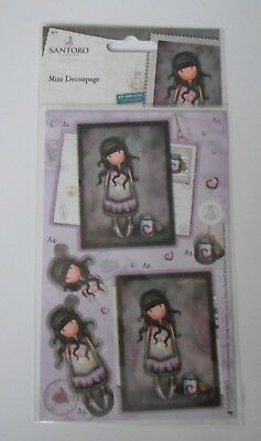 Gorjuss Santoro Mini Decoupage for cards and crafts