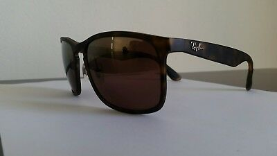 7dad73ec5f RAY BAN CHROMANCE 4264 Tortoise Purple Mirror Polarized RB4264 894 ...