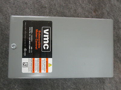 VMC Submersible Well Pump Control Box 14940943 230V 1/2HP  0.37KW
