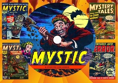 Mystic & Other Pre-Code Horror Comics On DVD Rom