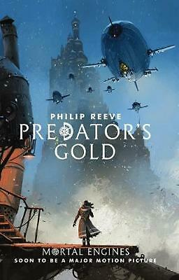Mortal Engines #2: Predator's Gold by Philip Reeve Paperback Book Free Shipping!