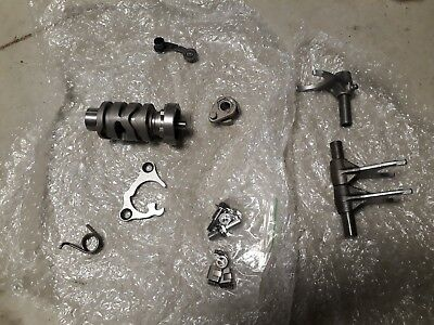 RMZ 450 Gear Selector Forks and Drum - Brand New 08 -12