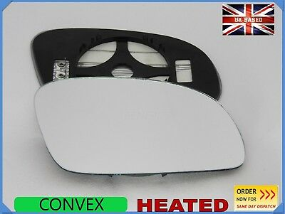 Wing Mirror Glass For VW NEW BEETLE 2003-2010  HEATED Right Side Convex #1035