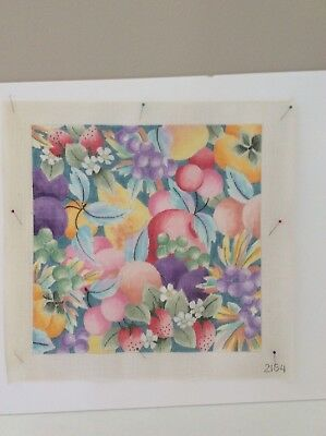 Fruit/Flower  Needlepoint Canvas