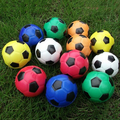 Fußball Ball Übung Stress Relief Squeeze Elastische Soft Foam Ball Hot AB