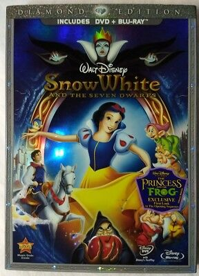 Snow White and the Seven Dwarfs (DVD, 2009, 2-Disc Set, Slipcover)