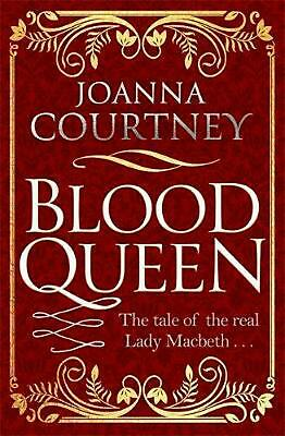 Blood Queen by Joanna Courtney Paperback Book Free Shipping!