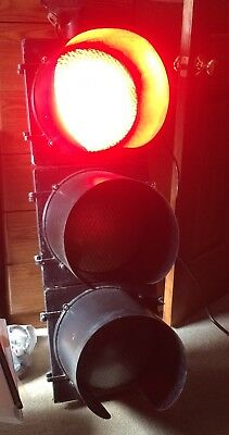 """12"""" Authentic Traffic Light Signal with Sequencer aluminum LED"""