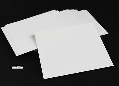 """8 pieces of Square ALUMINA CERAMIC SHEETS 4"""" x 4"""" x .020"""" (.5mm) Thick US SELLER"""