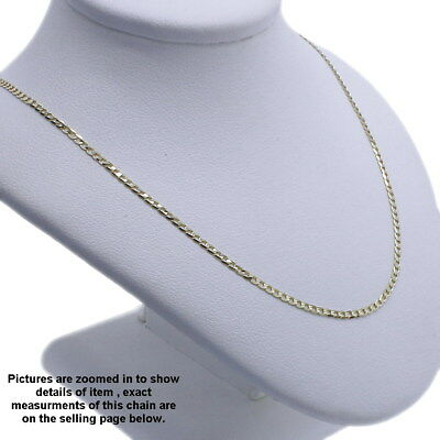 Genuine Brand new 9K Solid Italian Yellow Gold Chain Necklace45,50,55,60,70,90cm