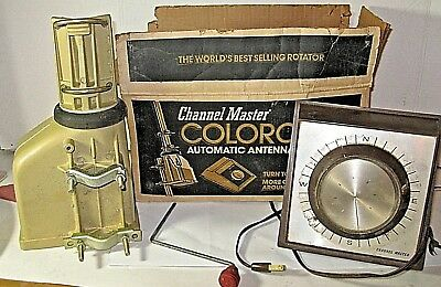 CHANNEL MASTER MODEL 9512B TV Antenna Rotator untested