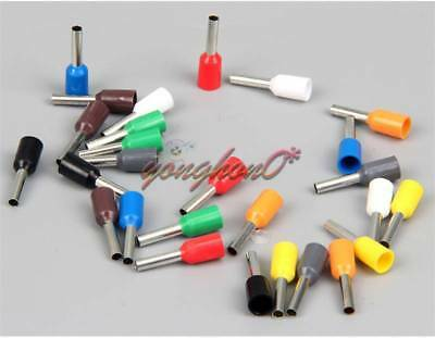 500 × Red 20AWG Cable Pre-Insulated Ferrules Terminal Wiring Connectors E7508