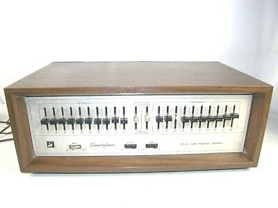 Soundcraftsmen 20-12A Audio Frequency Graphic Equalizer, Eq, Vintage Rack