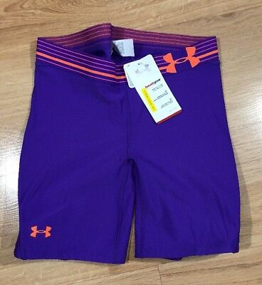 UNDER ARMOUR Softball Sliding Shorts Womens Medium Purple NEW!!