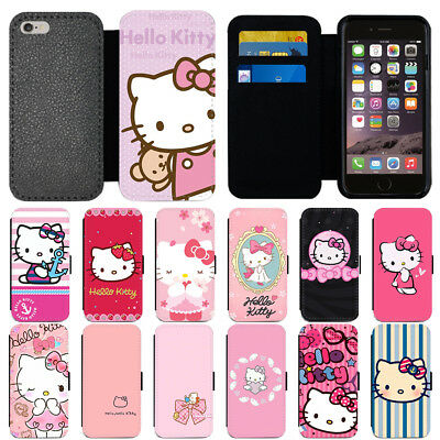 7c8e97a73 CARTOON HELLO KITTY Flip PU Leather Wallet Phone Case Cover For IPhone  Samsung - $3.59 | PicClick