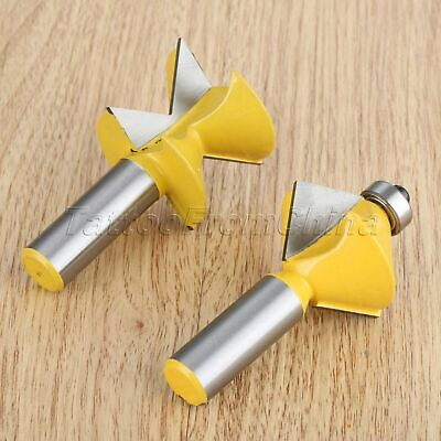 90 Degree Tongue Groove Joints Wood Edge Banding Router Bits Milling Cutters