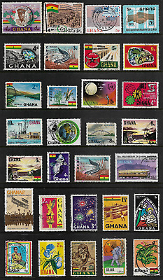 GHANA mixed collection No.3, used