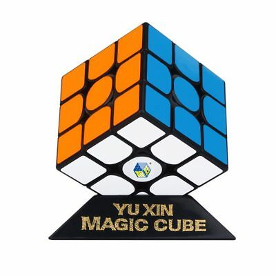 YuXin HuangLong 3x3x3 Magnetic Speed Contest Magic Cube Twist Puzzle Toys Black