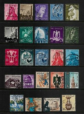 UNITED ARAB REPUBLIC, UAR, Egypt, mixed collection No.6, used