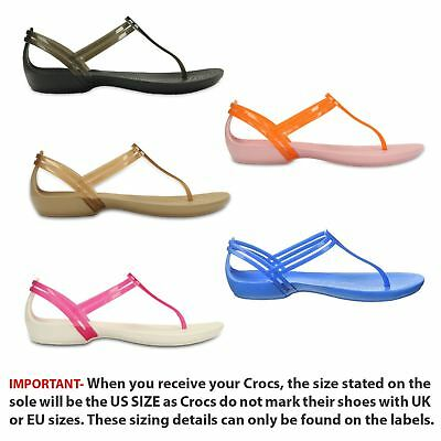 22523497a1f6 Crocs Isabella T-Strap Relaxed Fit Sandals in Wide Range of Colours 202467