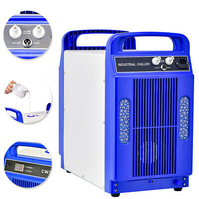 HQ 110V CW-3000DG Thermolysis Industrial Water Chiller for 60/80W CO2 Glass Tube