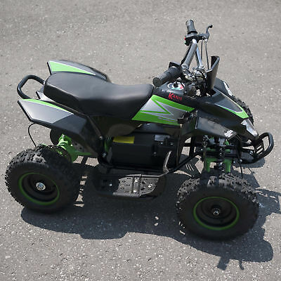 Kids Mini Quad Dirt Motor Bike Electric Battery Powered 36V Green