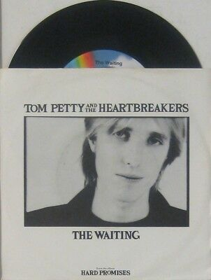 "Tom Petty and the Heartbreakers  the waiting / nightwatchman , 7"" 45"