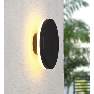 Pathson Round LED Wall Lamp 8W Waterproof Stairs Porch Patio Modern Decor Light