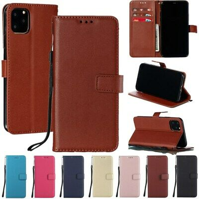 For iPhone XR XS Max 8 7 6s Plus Flip Leather Wallet Card Slot Stand Case Cover