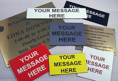 Engraved Door or Wall Signs and Labels in various colours