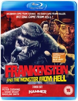 Frankenstein And The Monster from Hell BLU-RAY *NEW & SEALED*