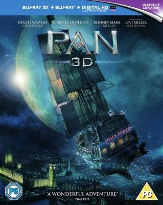 Pan 3D BLU-RAY- REGION FREE *NEW & SEALED*