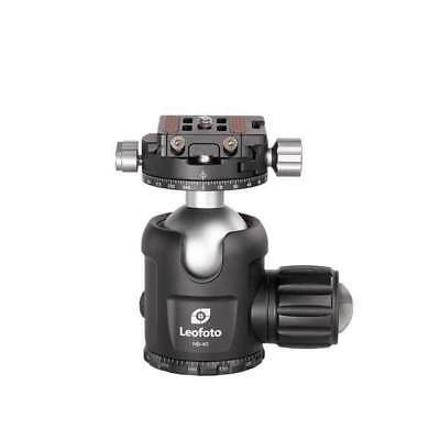 Leofoto Pro Ball Head With Panning Clamp Nb-40 (Double-Action)